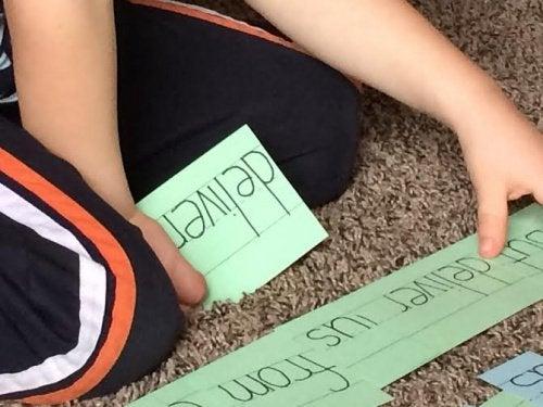 Doman-metodi auttaa lapsia lukemaan