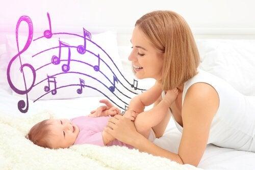 Tuutulaulu lapsen rentoutumiskeinona