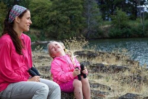 Yhteisaktiviteetteja äideille ja tyttärille