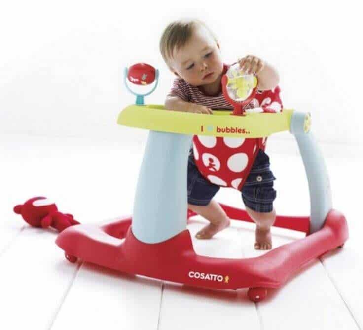 Kävelytuoli, vauvan ensiaskelten vihollinen?
