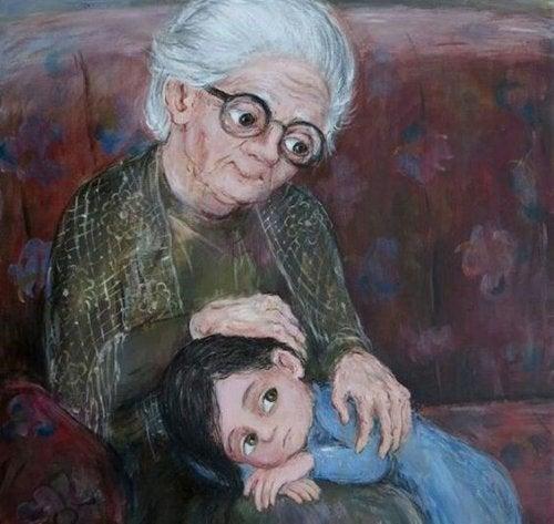 """""""Isoäiti, taivaan kirkkain tähti"""""""