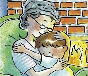 isoäiti ja lapsenlapsi