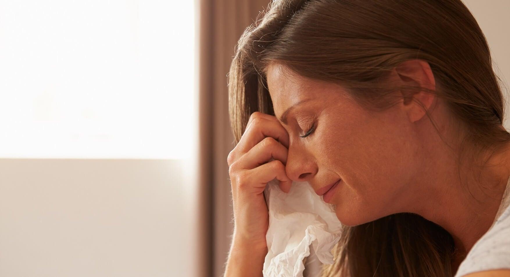 Myös äidit itkevät joskus uupumuksesta, stressistä ja pelosta