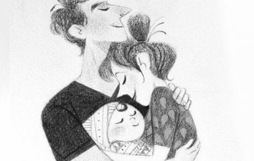 Pariskunnan elämä lapsen saannin jälkeen