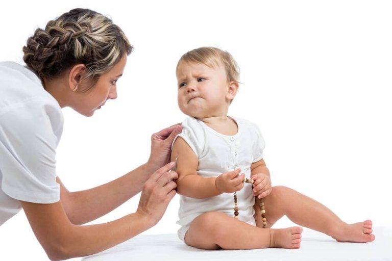 vauvan rokottaminen