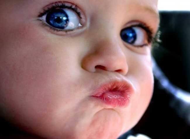 Aina lapsi ei halua antaa suukkoa, ja se on OK