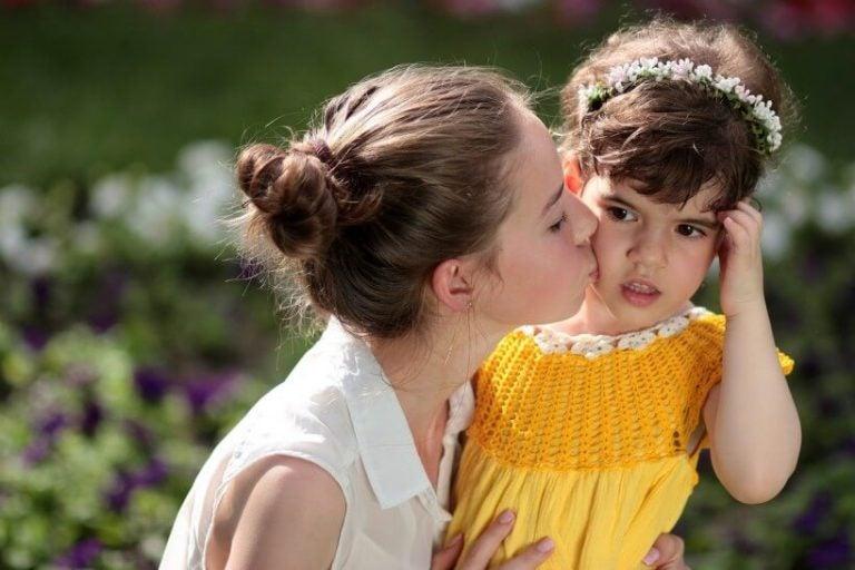 lapsen suukottaminen