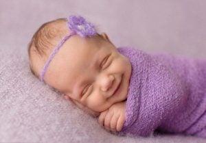 vauvan hymy