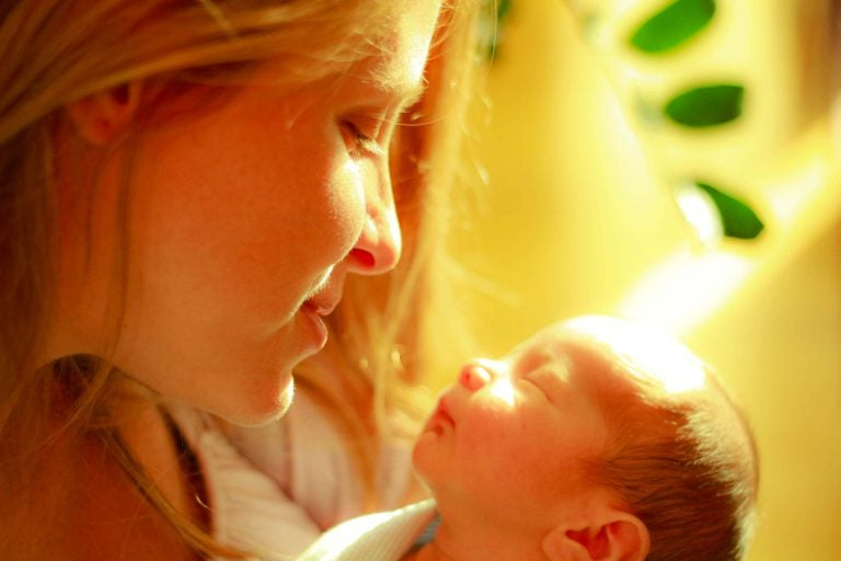 Nauti ajasta vauvan kanssa - se menee ohi nopeasti