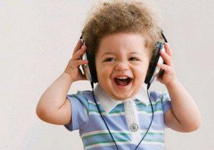 vauvan nauru ja musiikki