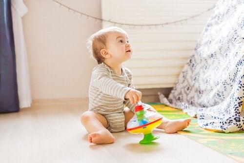 vauvan asento