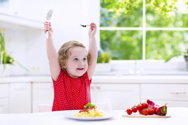 Lapsen terveelliset ateriat 1-2 vuoden iässä