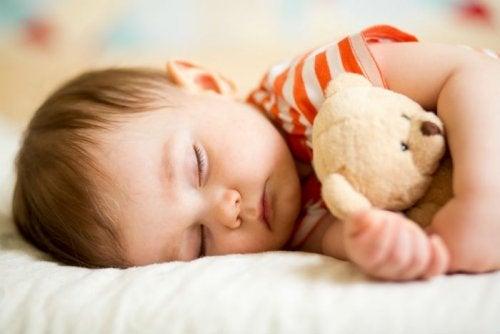 lapsen unentarve