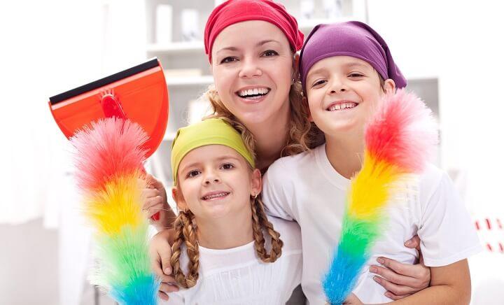12 tapaa, joilla teet siivouksesta helpompaa