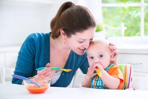 Suolaisia reseptejä 6-9 kuukauden ikäisille vauvoille