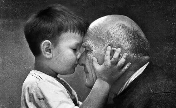 Isovanhempien rakkaus on ikuista