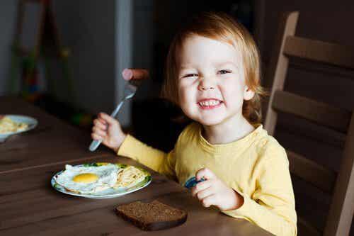 Parhaat ruoat lapsen aivoille