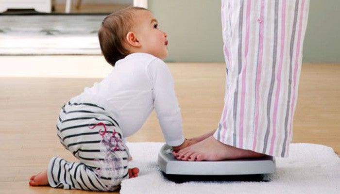 Eroon raskauskiloista - vinkkejä terveelliseen painonpudotukseen