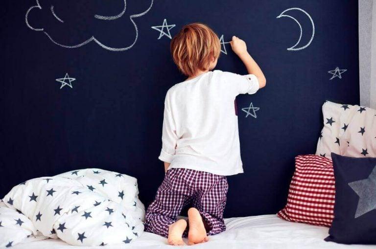 Kuinka taata lapsen unensaanti?