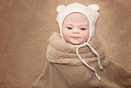 Vauvan aivot kehittyvät nopeasti