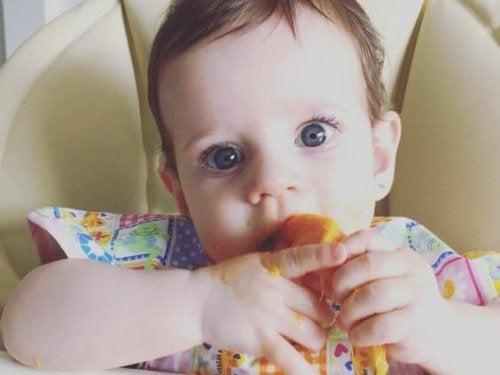 Ehdotuksia vauvan ruokavalion laajentamiseen