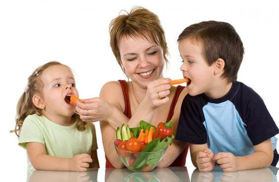 Lapsen vastustuskyvyn parantaminen