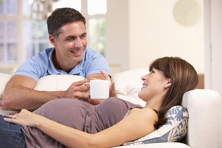 miehen on hyvä tietää raskaana olevan naisen oikut
