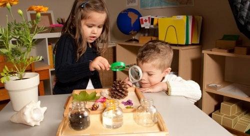 Montessori-menetelmä käyttöön kotona