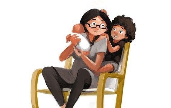 Henkilökohtainen hyvinvointi on vanhemmuuden tärkein ehto