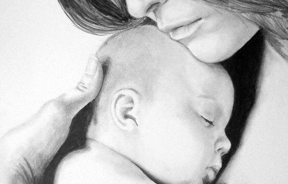 Miksi vauva kuuluu vanhemman syliin?