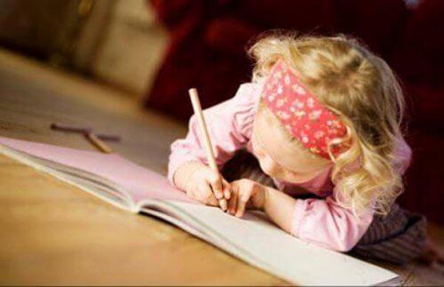 Lapsen hyvä opiskelurutiini ja sen tärkeys