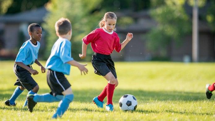 Liikunta vahvistaa lasten luustoa
