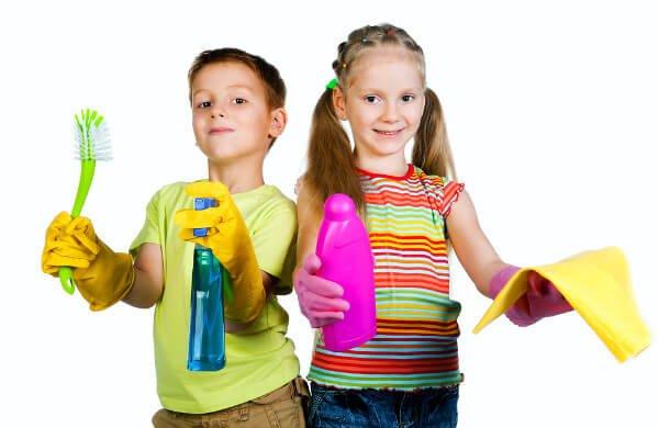 Parhaat kotityöt lapsille iän mukaan