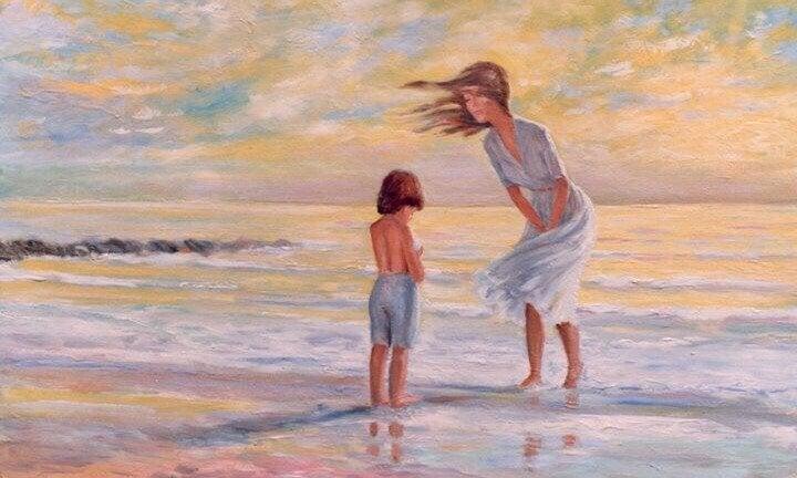 Äitiys saa ymmärtämään, kuinka syvä sydän on