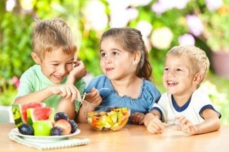 Onko totta, että lapsen persoonallisuus vaikuttaa ruokavalioon?