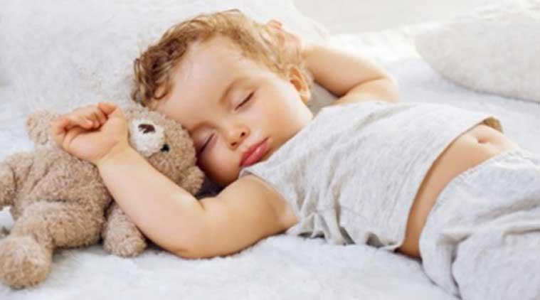 Nukkuva lapsi on kauneinta, mitä äiti voi tietää