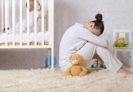 Synnytyksen jälkeinen masennus