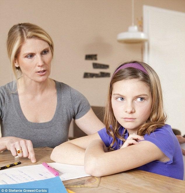 Olemalla vaativa äiti, voit auttaa lastasi menestymään