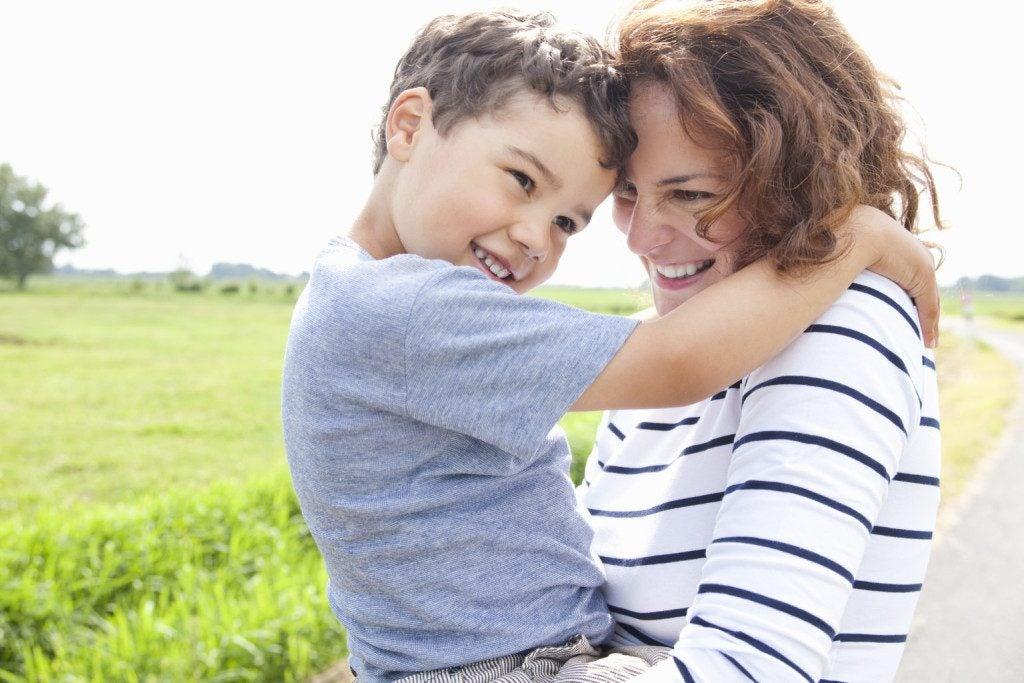 Lapsen on tärkeää tuntea itsensä tärkeäksi ja rakastetuksi