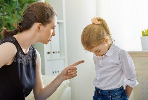 Lapsen kieltäminen