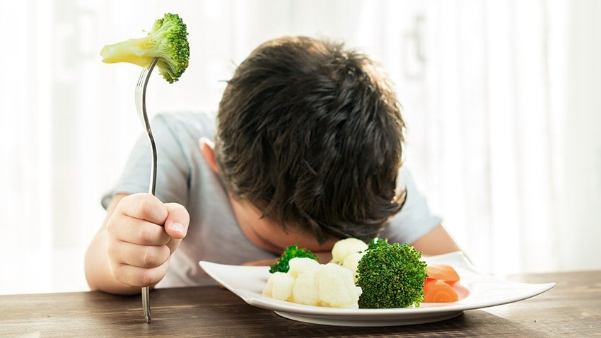 Lapsen huonon ruokavalion seuraukset