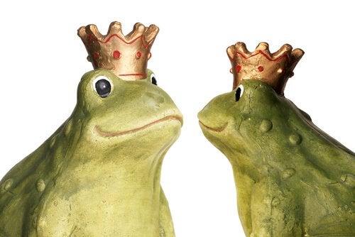 Tarina kahdesta sammakosta opettaa lapselle miettimään tarkoin, ennen kuin tekee jotain