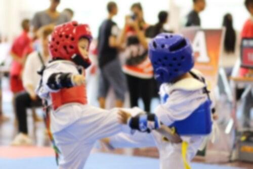 Taekwondon hyödyt lapsille