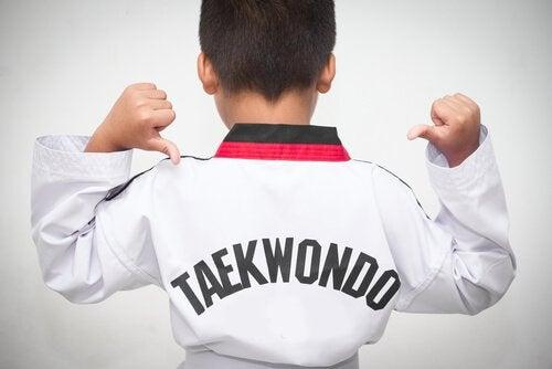 Taekwondo ja sen hyödyt lapselle