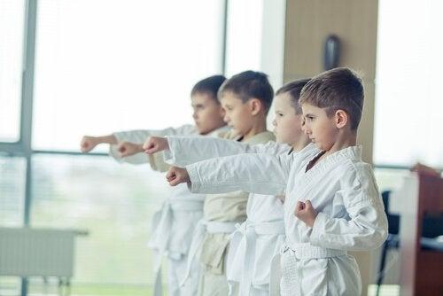 Taekwondo ja sen hyödyt lapsille