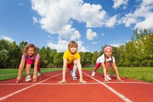 Urheilu on tärkeää lapselle