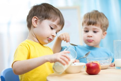 Parhaat välipalat koulun jälkeen syötäväksi