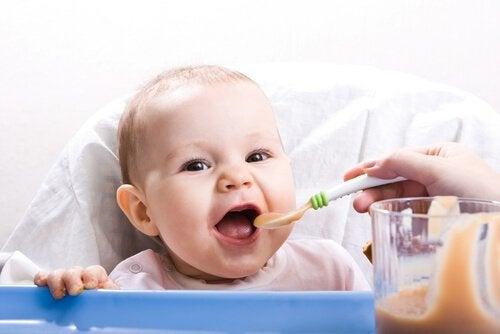 Terveellisiä reseptejä ja uusia koostumuksia 9-12 kuukauden ikäisille lapsille