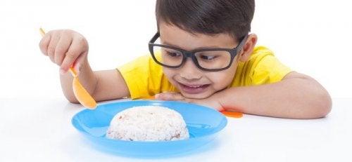 Terveellinen ruokavalio on tärkeä pienestä pitäen