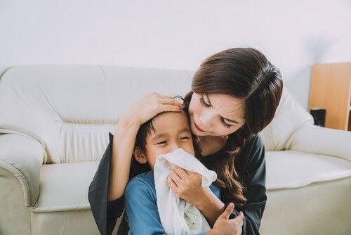 Lapsen limaisuus: Tyyppien tunnistaminen ja hoito